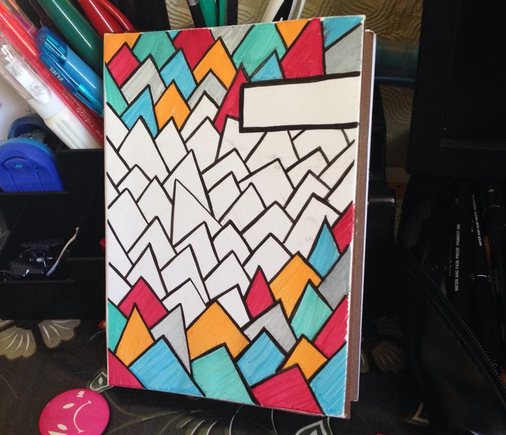 Handmade Notebook with pattern cover
