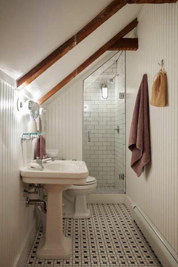 17 meilleures id es propos de petite salle de bains au grenier sur pinterest salle de bains for Petite salle de bain architecte