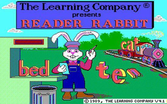 Reader Rabbit!!!!!!