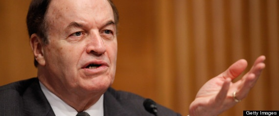Richard Shelby Is Angry That Regulators He Sandbagged Didn't Stop JPMorgan Losses    Posted: 05/24/2012 3:21 pm