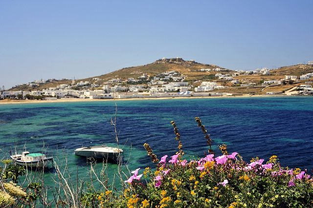 Mykonos in the Spring