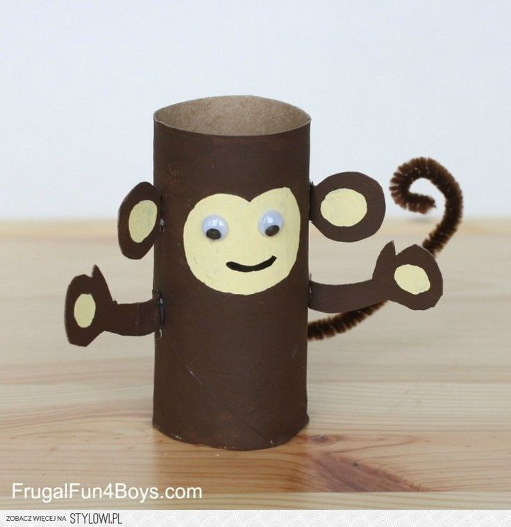 Paper Roll Animals - Frugal Fun For Boys na Stylowi.pl