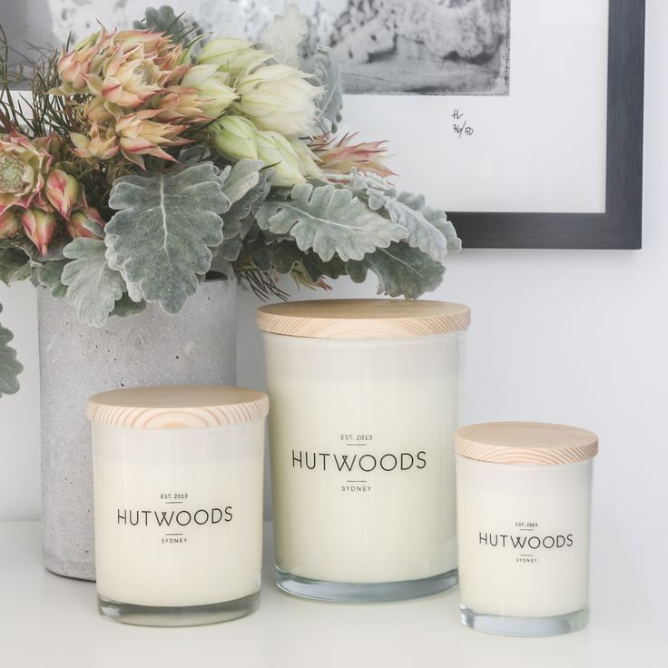 HUTWOODS LIFESTYLE RANGE Our contemporary lifestyle range is made with 100% natural soy wax & premium fragrance oils. They are available in a choice of 10 diverse scents to suit every taste. All products are provided in stunning pastel tube packaging with each scent corresponding to a unique colour.