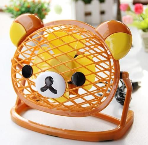 Rilakkuma table fan - so cute! #kawaii #cute