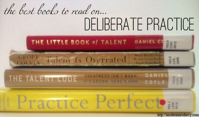 Les six meilleurs livres sur le deliberate practice