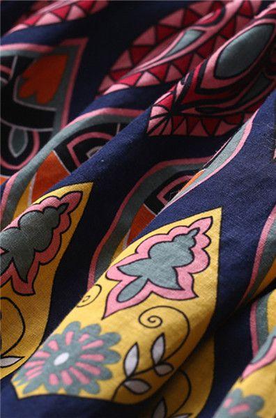 Maxiröcke - Frauen Blumenrock - 1315 - ein Designerstück von abigaillee bei DaWanda