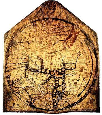 39 best medieval maps images on pinterest middle ages antique ancient world maps 14th century gumiabroncs Images