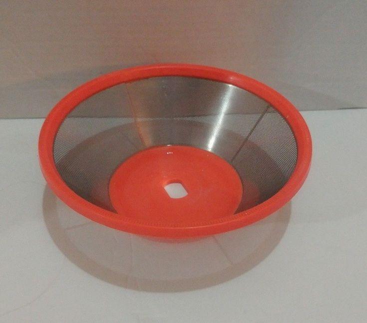 Jack LaLanne's Power Juicer Replacement Filter Strainer Basket Model JLS-8 OEM #JackLaLanne