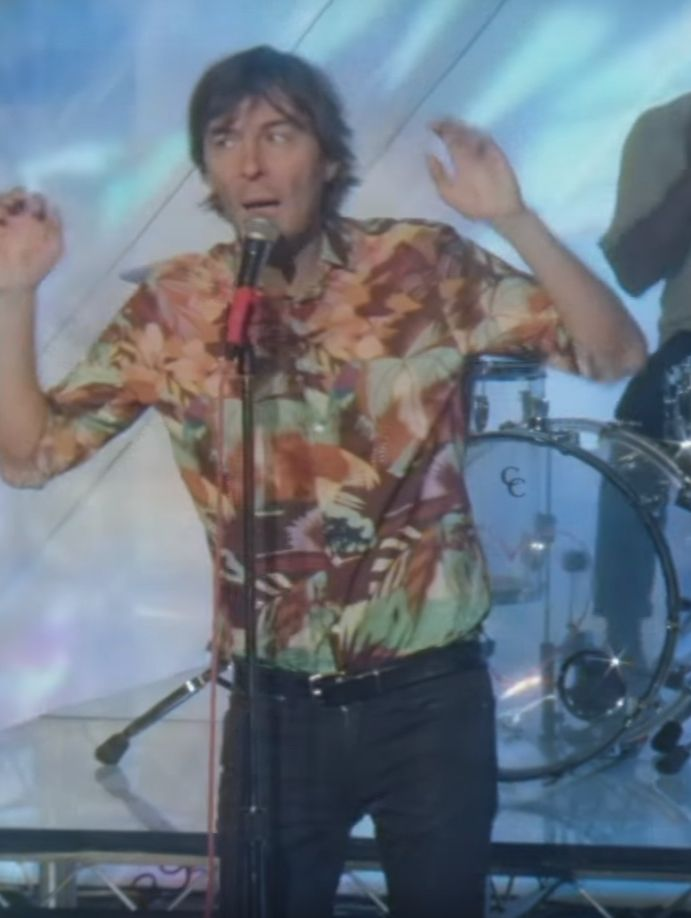 w2c this 80s-esque aesthetic af shirt Thomas Mars is wearing?