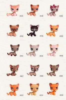 Nicole`s LPS blog - Littlest Pet Shop: Pets: Cat shorthair