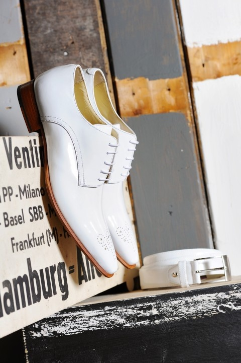Mike off-white #herenschoenen  #trouwschoenen