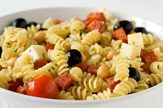 pasta salad recipes with italian dressing | Italian Pasta Salad Recipe | Brown Eyed Baker