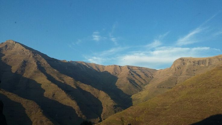 Lesotho Mountains in Centurion, IGauteng