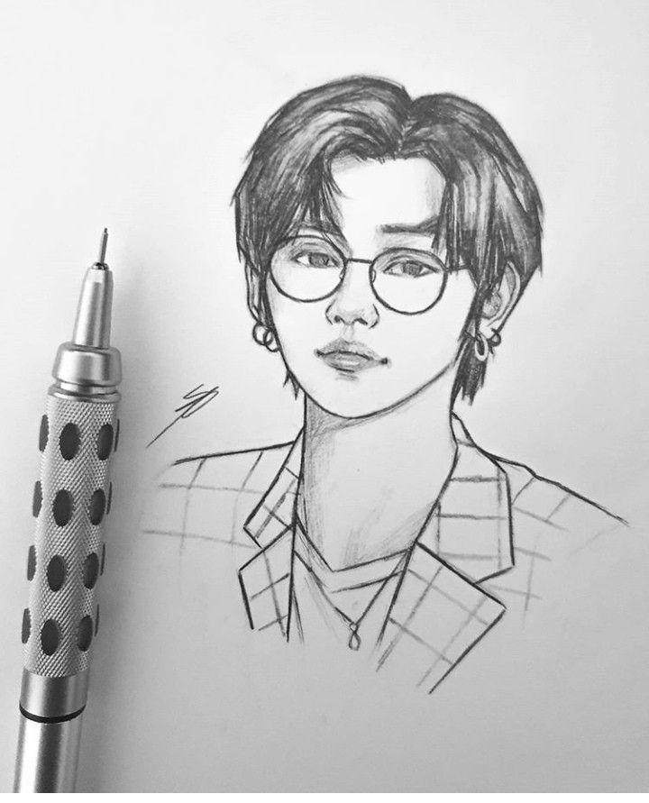 Pin By Cfzgndner On Draw Kpop Drawings Cool Art Drawings Bts Drawings