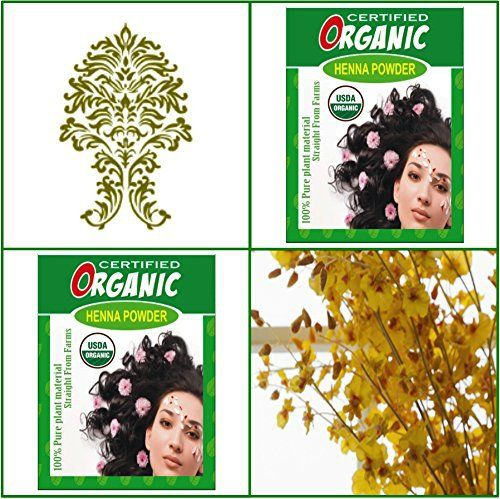 (Qty. 2) 100g Certified Organic Henna Powder for Hair Color Conditioning. Golden Brown Color. - http://essential-organic.com/qty-2-100g-certified-organic-henna-powder-for-hair-color-conditioning-golden-brown-color/