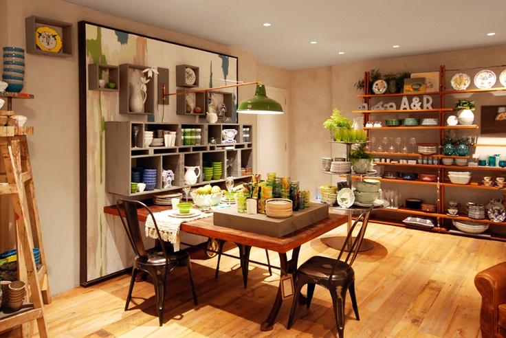 Retail Design | Shop Design | Homeware Store | Anthropologie