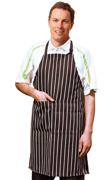 Embroidered Butchers Apron Min 25  #Apron #PromotionalProducts - A custom made apron has a branding options of embroidery and screen printing.  http://www.promosxchange.com.au/embroidered-butchers-apron/p-7989.html