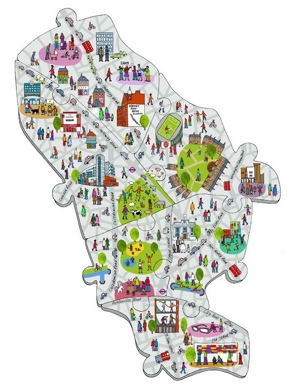 #emmabrownjohn #newdivision #illustration #digital #line #stylised #map