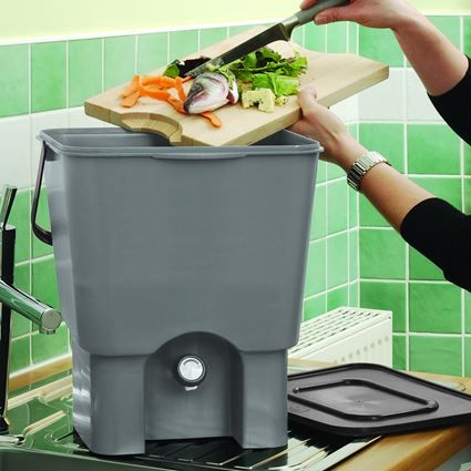 blackwall twin pack kitchen compost bins