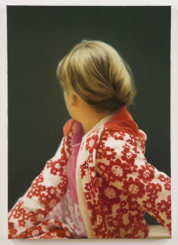 Gerhard Richter; Betty, 1988; oil on canvas; 40 1/4 x 28 1/2 in. (102.2 x 72.4 cm); Saint Louis Art Museum, Funds given by Mr. and Mrs. R. Crosby Kemper Jr. through the Crosby Kemper Foundations, The Arthur and Helen Baer Charitable Foundation, Mr. and Mrs. Van-Lear Black III, Anabeth Calkins and John Weil, Mr. and Mrs. Gary Wolff, the Honorable and Mrs. Thomas F. Eagleton; Museum Purchase, Dr. and Mrs. Harold J. Joseph, and Mrs. Edward Mallinckrodt, by exchange 23:1992 © Gerhard Richter…