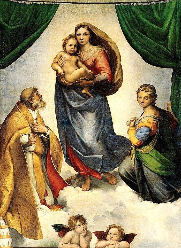 GERMANY Sistine Madonna (1512) by Raphael (Raffaello