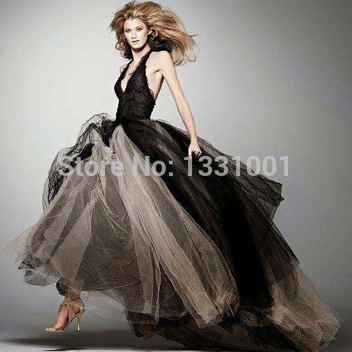 Vestidos Para Casamento Mtf Floor Length Victorian Gothic Camouflage Wedding Dress V Neck Black And White Debutante Gowns 2014-in Wedding Dresses from Weddings & Events on Aliexpress.com | Alibaba Group