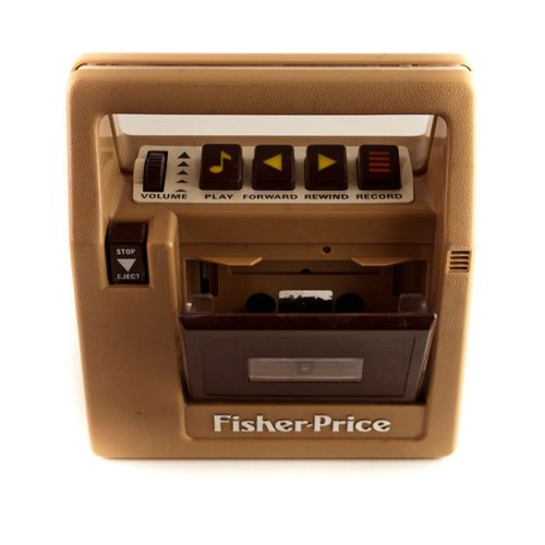 Fisher Price Cassette Player - had it!