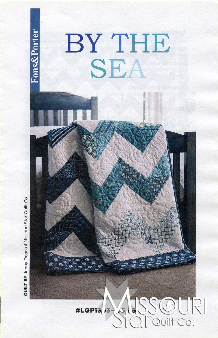 By The Sea Pattern from Missouri Star Quilt Co