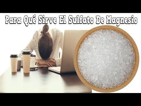 Para Qué Sirve El Sulfato De Magnesio Beneficios Del Sulfato De Magnesio Sal De Epsom Sal Inglesa Suscribete a nuestro canal  https://www.youtube.com/c/SaludNaturalsaludmasnatural   Hola amigos bienvenidos hoy voy a compartir con ustedes los beneficios de consumir el sulfato de magnesio  El sulfato de magnesio o sulfato magnésico de nombre común sal de Epsom o sal inglesa.  Fue elaborada originariamente mediante cocido de las aguas minerales de la comarca cercana a Epsom Inglaterra y luego…