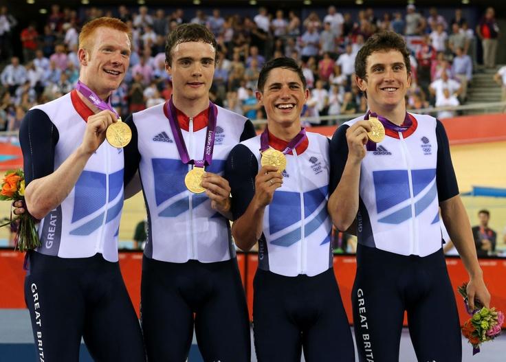 GOLD - Cycling, Men's Team Pursuit