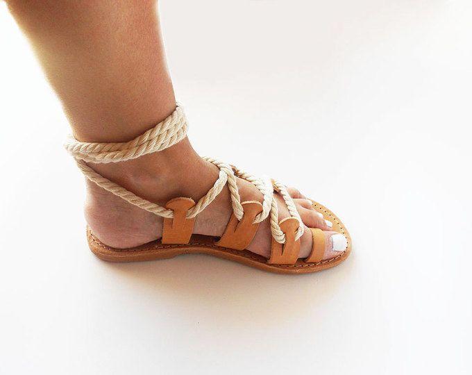 Sandalias griegas sandalias de gladiador sandalias negras de