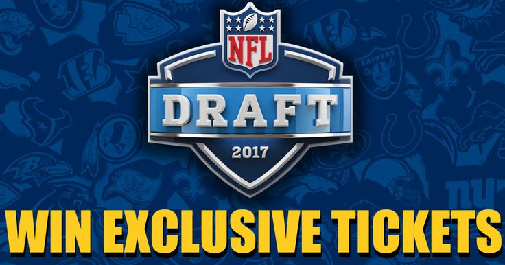 The 2017 NFL Draft is coming up next week and it's just up I-95 in Philadelphia. All this week, during Redskins at 8 and Redskins at 10, we're giving you a chance to win tickets to see the first round on Thursday and the second and third rounds on Friday live at the NFL Draft Theater in Philadelphia