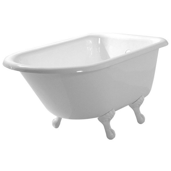 Randolph Morris 48 Inch Cast Iron Classic Clawfoot Tub   No Drillings    Ball And Claw