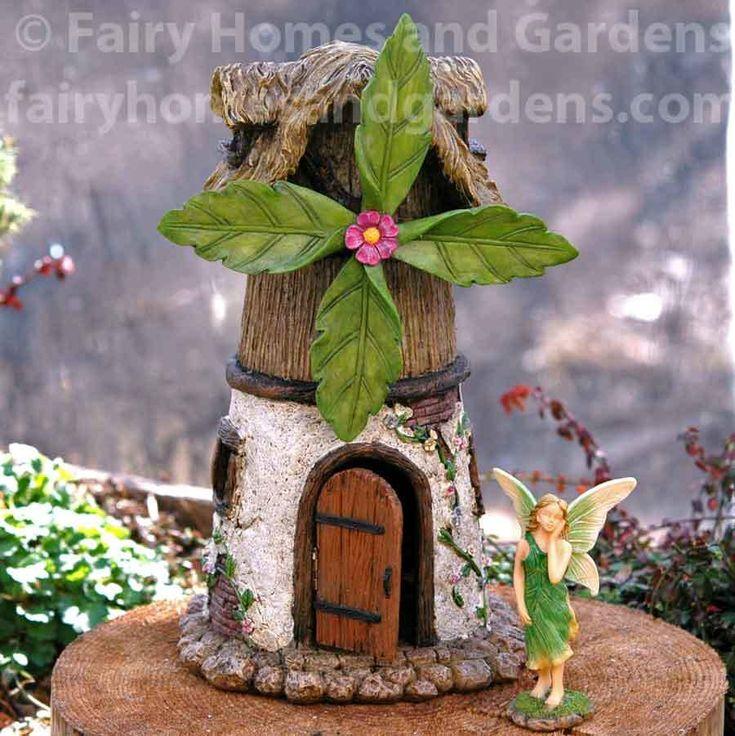 Fairy Homes and Gardens - Windmill Fairy House, $36.75 (https://www.fairyhomesandgardens.com/windmill-fairy-house/)