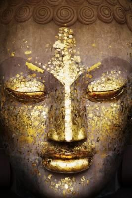 perfect: Inspiration, Gold Leaf, Posters Prints, The Faces, Art, Inner Peace, Golden Buddha, Poster Prints, World Culture