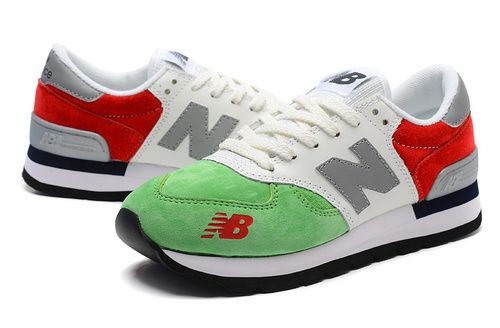 Women New Balance 990 NB990 Shoes 990 Italy Flag Green White Red|only US$75.00 - follow me to pick up couopons.