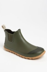 Treetorn Olive Rubber Rain Shoes for Men - Boots