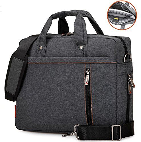 "15.6 inch Waterproof Laptop Messenger Bag with Air-cell Buffer, Multi-compartment Briefcase Oxford Nylon Shoulder Bag, Hand Bag (15"", Black) #inch #Waterproof #Laptop #Messenger #with #cell #Buffer, #Multi #compartment #Briefcase #Oxford #Nylon #Shoulder #Bag, #Hand #Black)"