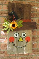 Cute scarecrow....