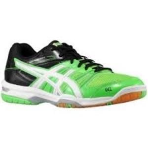 The Gel-Rocket #squash shoe (R750.00)  brings exceptional value and performance season after season. This season offers a lighter weight upper and increased gum rubber on the outsole for improved traction. Updated styling and design will continue to make this series the shoe of choice for recreational squash players everywhere.  The Asics gel cushioning system has the ability to absorb shock by dissipating vertical impact and dispersing it into a horizontal plane.