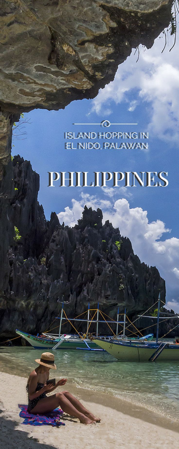 Just look at these rock formations. Are they unusual and captivating, or what? #ElNido #Palawan #Philippines