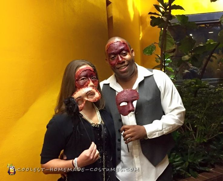 650 best couples halloween costumes images on pinterest couple scariest couple costume at the masquerade ball solutioingenieria Images