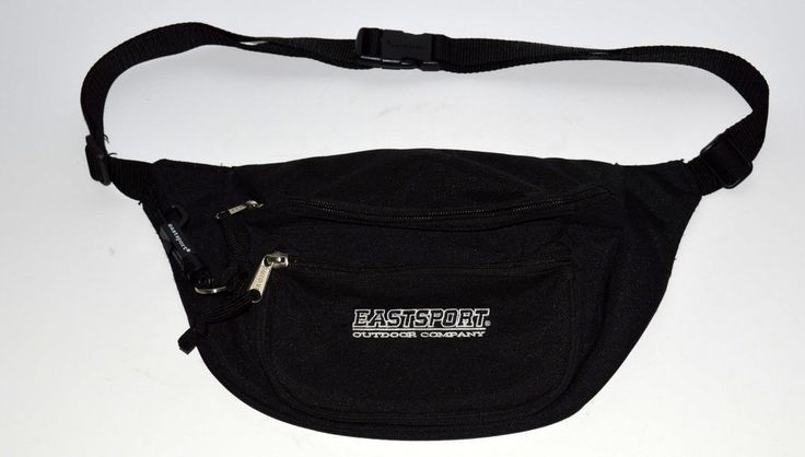 Eastsport Outdoor Company Black Fanny Pack Hiking Camping Gear Vintage | eBay