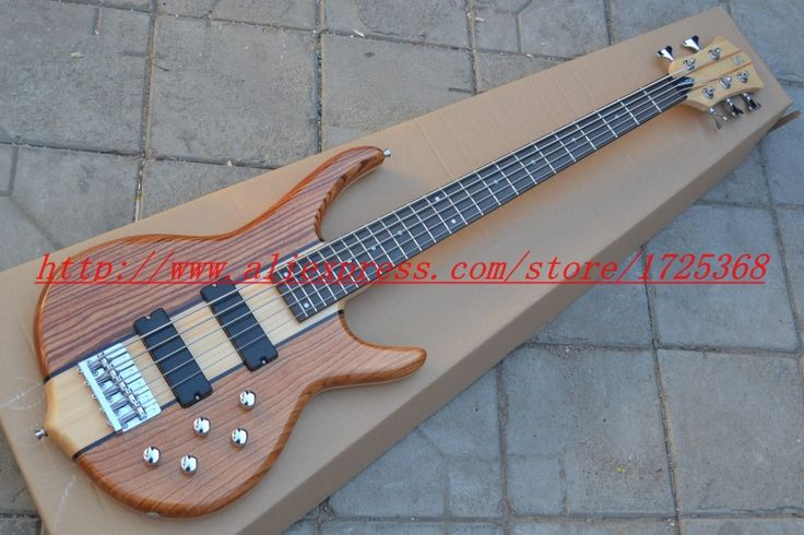 2017 qualitypay pal Wholesale S-mith electric bass 5 strings neck thru china cheap guitar! Free Shipping