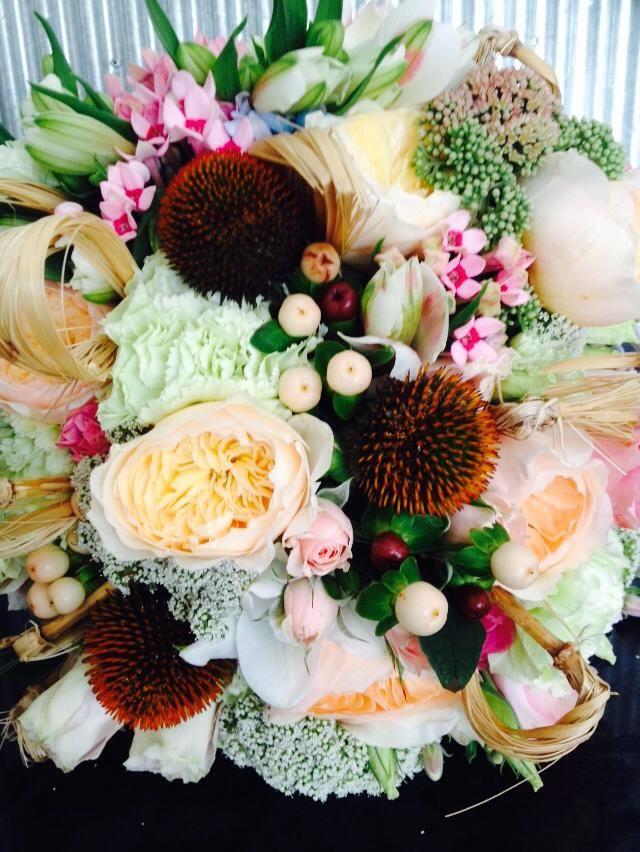 Wedding Flower Trends 2014 by Mikeala fleur Patterson Floral Design | Tesselaar Wedding Flowers