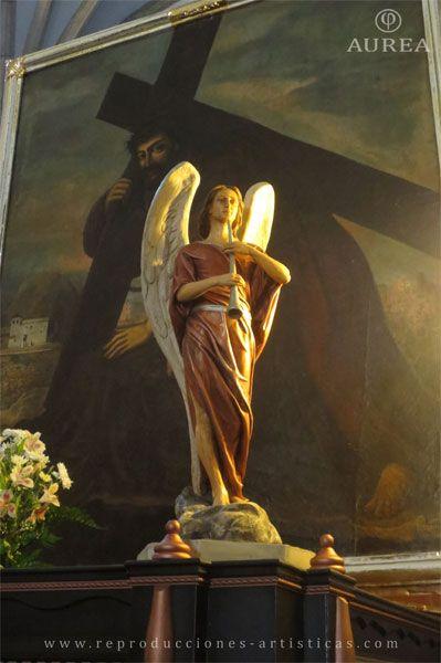 Ángel del paso del Cristo del Paño de Moclín