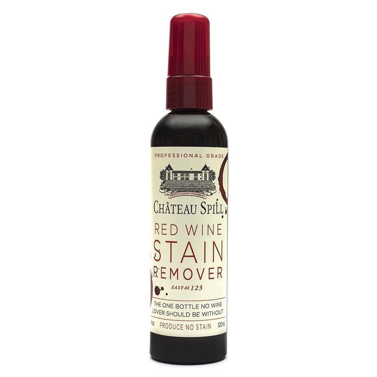 Chateau Spill Red Wine Stain Remover....$16.95