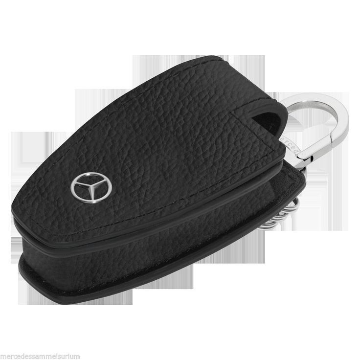 Mercedes Benz Key Ring Pouch Black NIP