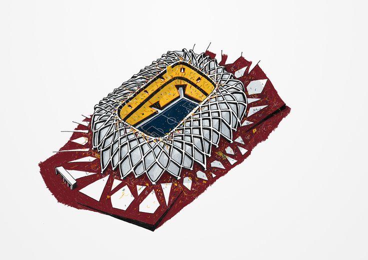 2014 world cup stadiums / arena da amazônia, manaus