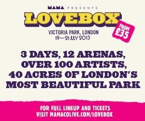#HappyBirthdayBrastop tickets to the lovebox festival this summer and a little sunshine